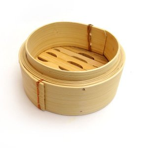 広東式竹中華セイロ 万糧 15cm 身|chuukanotobira