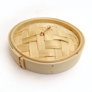 広東式竹中華セイロ 万糧 15cm 蓋|chuukanotobira