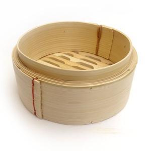 広東式竹中華セイロ 万糧 17cm 身|chuukanotobira