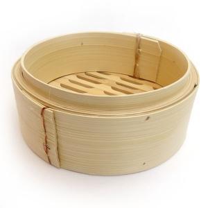 広東式竹中華セイロ 万糧 18cm 身|chuukanotobira