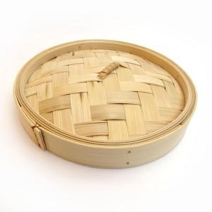 広東式竹中華セイロ 万糧 18cm 蓋|chuukanotobira