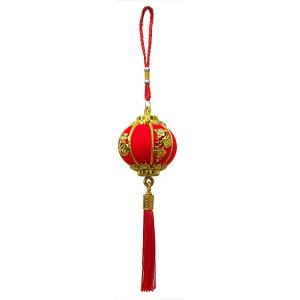 福花ミニ提灯吊り飾り 36cm(春節飾り)|chuukanotobira