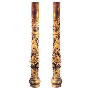 龍の柱 一対|chuukanotobira