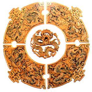 立体九龍5点セット 94cm|chuukanotobira