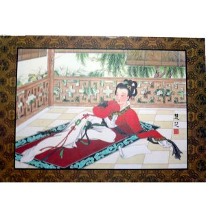 中華の美人画プレスマット|chuukanotobira