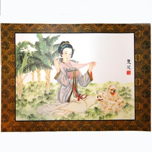 中華の美人画プレスマットK|chuukanotobira