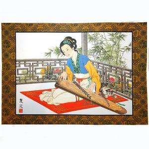 中華の美人画プレスマットL|chuukanotobira