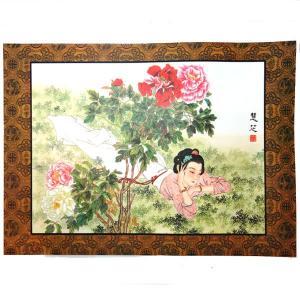 中華の美人画プレスマットM|chuukanotobira