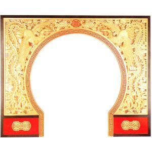 中華の門 鳳凰と鳳凰|chuukanotobira
