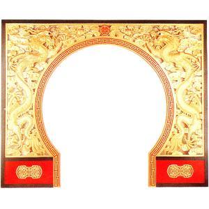 中華の門 龍と龍|chuukanotobira