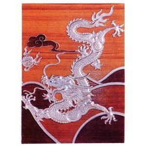 九龍の飾り板単品 茶|chuukanotobira