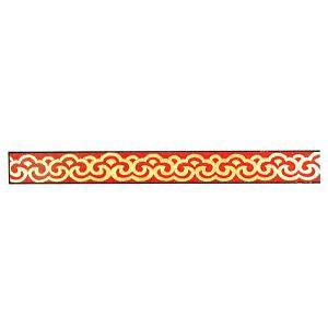 15巾飾り板 赤 180cm|chuukanotobira