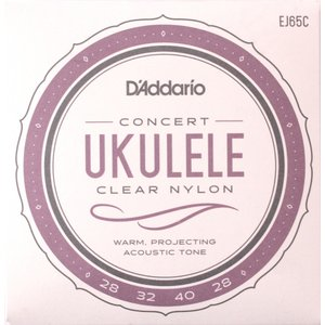 D'Addario EJ65C Pro-Arte Custom Extruded Ukulele Concert コンサートウクレレ弦|chuya-online