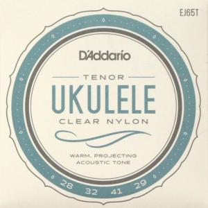 D'Addario EJ65T Pro-Arte Custom Extruded Ukulele Tenor テナーウクレレ弦|chuya-online