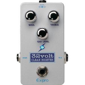 EX-PRO 32Volt CLEAN BOOSTER ギターエフェクター|chuya-online