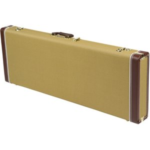 Fender Pro Series Stratocaster/Telecaster Case Tweed エレキギター用ハードケース|chuya-online