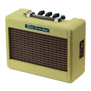 Fender Mini 57 Twin-Amp Tweed ミニギターアンプオリジナル・フェンダーの...