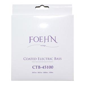 FOEHN CTB-45100 Coated Electric Bass Strings Regular Light コーティングエレキベース弦 45-100|chuya-online