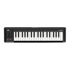 KORG microKEY2-37 USB MIDIキーボード小さくても「弾ける」ナチュラル・タッチ...