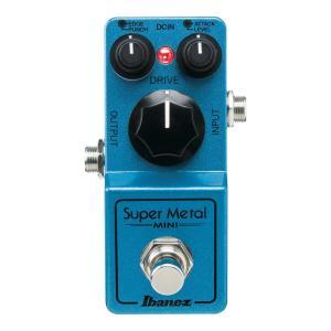 IBANEZ SMMINI Super Metal MINI ギターエフェクターIbanezの「ミニ...