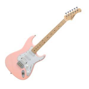 BACCHUS G-STUDIO Fe/M PINK エレキギター