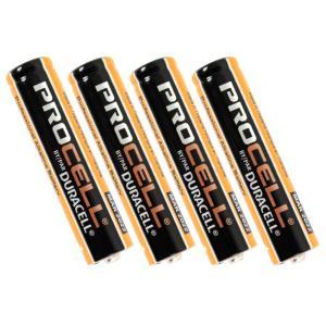 Duracell Procell PRO-AAA4 単4形 アルカリ乾電池 4本パック