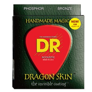 DR DRAGON SKIN DSA-2/11 MEDIUM LITE 2PACK アコースティック...