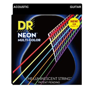 DR NEON MULTI COLOR NMCA-2/11 MEDIUM LITE 2PACK アコ...