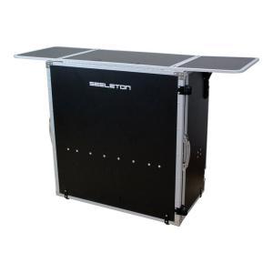 SEELETON SDJT 折りたたみ式 DJテーブル実用性と機能性、そして機動力を兼ね備えた折りた...