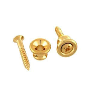ALLPARTS HARDWARE 6565 Gibson Style Gold Strap But...