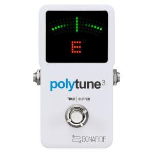 tc electronic PolyTune 3 バッファー内蔵 ポリフォニックチューナー|chuya-online
