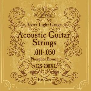 ARIA AGS-200XL アコースティックギター弦
