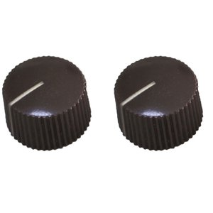 Montreux Fender Amp style knob brown (2) No.1052 ギ...