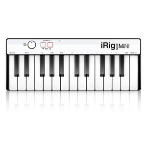 IK Multimedia iRig Keys Mini MIDIキーボード コントローラー