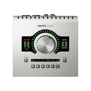 クラス最高レベルの解像度とリアルタイムのUADプロセッシングによって、Apollo Twin USB...