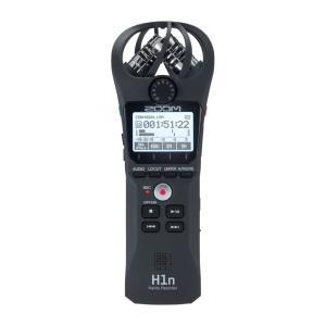 ZOOM H1n Handy Recorder ハンディーレコーダー誰でも手軽に扱えるシンプルな操作...