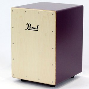 Pearl PCJ-CVJ/SC PU COLOR BOX CAJON ジュニアカホン ソフトケース付き