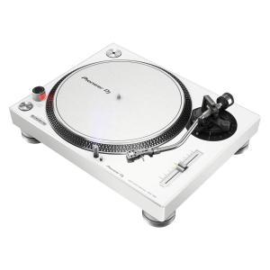 DIRECT DRIVE TURNTABLE (white)高品位なアナログレコードサウンドでDJプ...