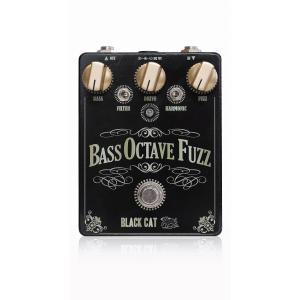 Black Cat Bass Octave Fuzz ファズ ベースエフェクター