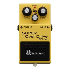 BOSS SD-1W (J) SUPER OVER DRIVE WAZA CRAFTシリーズ オーバ...