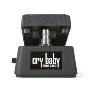 CRYBABY 535Q をほぼ半分のサイズにしたミニワウ。ペダルボードへの組み込みにマッチします。...