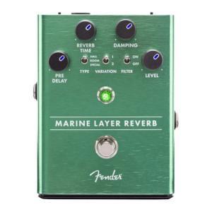 Fender Marine Layer Reverb Pedal リバーブ エフェクターリバーブはあ...