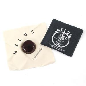 Melos メロス バイオリン用松脂 ミニ ロジン ダークダーク:粘度の高さと引っかかりの強さ、張り...