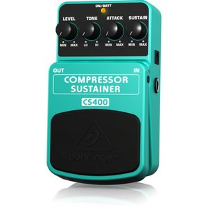 BEHRINGER CS400 COMPRESSOR SUSTAINER ギターエフェクター