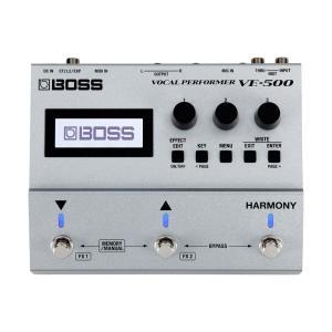 BOSS VE-500 Vocal Performer ボーカルエフェクター