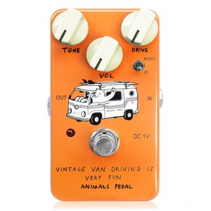Animals Pedal Vintage Van Driving Is Very Fun ギターエ...
