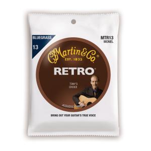 MARTIN MTR13 Retro Acoustic Monel Nickel Bluegrass...