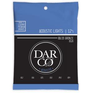 Darco D520 Acoustic Bronze Light アコースティックギター弦Darco...