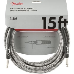 Fender Professional Series Instrument Cable SS 15'...