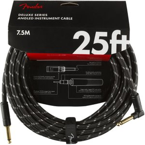 Fender Deluxe Series Instrument Cables SL 25' Blac...